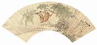 谢永钊 猴 -  - 中国书画  - 上海青莲阁第一百四十五届书画专场拍卖会 -收藏网