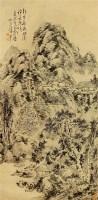山水 立轴 纸本 - 蒲华 - 中国书画 - 2010秋季艺术品拍卖会 -收藏网