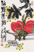 花卉 立轴 纸本 - 陈大羽 - 中国书画(下) - 2010瑞秋艺术品拍卖会 -收藏网