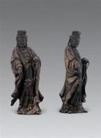 明初 木雕观音菩萨 -  - 瓷器杂项 - 2006年夏季拍卖会 -收藏网