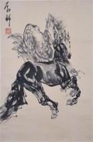 马 纸本 立轴 - 刘勃舒 - 中国书画(二)无底价专场 - 天目迎春 -收藏网