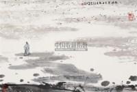 衡阳雁去无留意 镜心 设色纸本 - 亚明 - 中国书画(一) - 2010年秋季艺术品拍卖会 -中国收藏网