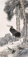 松鹤延年 立轴 设色纸本 - 张聿光 - 名家书画·油画专场 - 2006夏季书画艺术品拍卖会 -收藏网