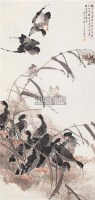 花鸟 立轴 设色纸本 - 4433 - 中国书画 - 2006秋季书画艺术品拍卖会 -中国收藏网