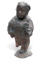铜鎏金瑞兽镇尺 -  - 西画雕塑(上) - 2006夏季大型艺术品拍卖会 -收藏网