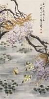 花鸟 立轴 纸本 - 金梦石 - 中国书画(下) - 2010瑞秋艺术品拍卖会 -中国收藏网