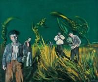 郊外 - 尹朝阳 - 油画 - 2010年秋季拍卖会 -收藏网