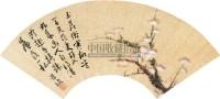 花卉扇面 镜心 纸本设色 - 陈道复 - 中国古代书画  - 2010秋季艺术品拍卖会 -收藏网
