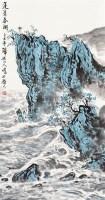 蓬莱春潮 立轴 纸本水墨 - 刘宝纯 - 中国当代书画 - 2010秋季艺术品拍卖会 -收藏网