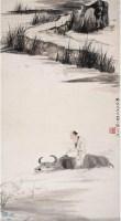 張大千(1899~1983)    歸牧圖 -  - 中国书画近现代十位大师作品 - 2006春季大型艺术品拍卖会 -收藏网