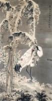 沈铨 仙鹤 立轴 - 沈铨 - 中国书画、油画 - 2006艺术精品拍卖会 -收藏网