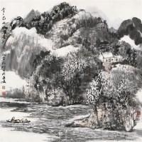 青青巴山 镜心 设色纸本 - 赵振川 - 中国书画 - 2010秋季艺术品拍卖会 -中国收藏网