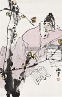 宋人诗意 立轴 设色纸本 - 王西京 - 中国书画 - 2010秋季艺术品拍卖会 -收藏网