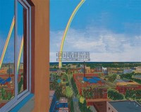 有彩虹的风景 版画 - 73734 - 油画专场  - 2010秋季艺术品拍卖会 -收藏网