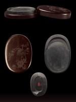 清•盧葵生製漆砂硯 -  - 文房清玩 历代名砚专场 - 2008年春季拍卖会 -收藏网
