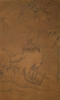 竹石图 立轴 水墨纸本 - 张瑞图 - 中国书画 - 2010年秋季艺术品拍卖会 -收藏网
