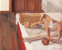 杨参军 静物 布面油画 - 140389 - (西画)当代艺术专题 - 2006年秋季精品拍卖会 -收藏网