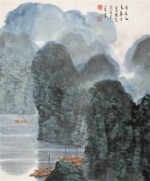 漓江 立轴 设色纸本 - 宋涤 - 中国书画 - 第54期书画精品拍卖会 -中国收藏网