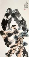 李苦禅 双鹰图 立轴 - 李苦禅 - 中国书画、油画 - 2006艺术精品拍卖会 -收藏网