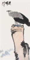 远瞻 立轴 纸本 - 吴作人 - 中国书画(下) - 2010瑞秋艺术品拍卖会 -收藏网