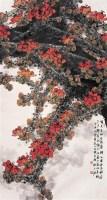 木棉花 镜心 设色纸本 -  - 中国书画 - 第54期书画精品拍卖会 -收藏网