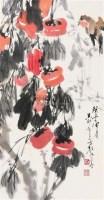 花鸟 立轴 纸本 - 颜梅华 - 中国书画(下) - 2010瑞秋艺术品拍卖会 -收藏网