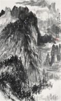 井冈山朱砂冲哨口 立轴 水墨纸本 - 黑伯龙 - 中国书画(一) - 2010年秋季艺术品拍卖会 -收藏网