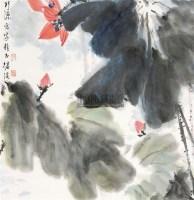 花卉 立轴 纸本设色 - 刘继瑛 - 中国当代书画 - 2010秋季艺术品拍卖会 -收藏网