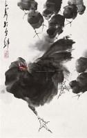舞动 镜片 设色纸本 - 王子武 - 中国书画 - 2010秋季艺术品拍卖会 -收藏网