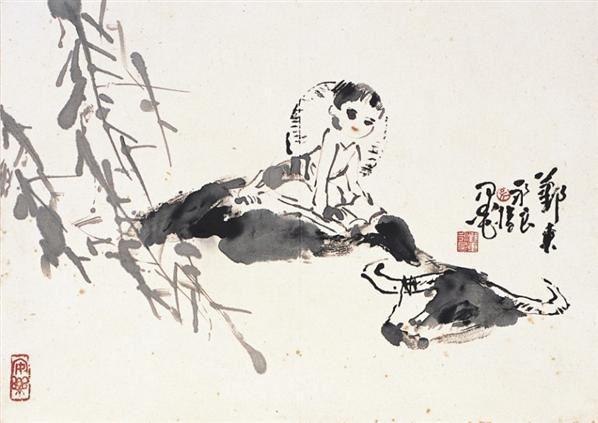 春江浮鼻图 - 129243 - 中国书画 - 浙江中财二○一○秋季中国书画拍卖会 -收藏网
