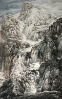杨云鹤 山水 硬片 - 杨云鹤 - 中国书画、油画 - 2006艺术精品拍卖会 -收藏网