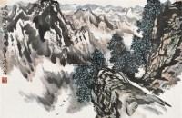崘雪霁 镜片 设色纸本 - 赵振川 - 中国书画 - 2010秋季艺术品拍卖会 -收藏网