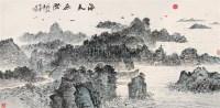 海天无际 镜片 纸本 - 朱恒 - 中国书画(下) - 2010瑞秋艺术品拍卖会 -收藏网