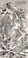 山水人物 立轴 纸本 -  - 中国书画 - 2010秋季艺术品拍卖会 -收藏网