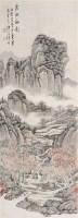 山水 立轴 纸本设色 - 徐枋 - 中国古代书画  - 2010秋季艺术品拍卖会 -收藏网