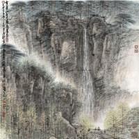 山水 纸本 镜片 - 孙永 - 中国书画(一)精品专场 - 天目迎春 -收藏网