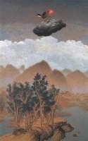 远方的雷声 布面 油画     - 高惠君 - 中国油画 - 第54期书画精品拍卖会 -收藏网