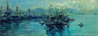 海港 纸本油画 - 乌叔养 - 中国油画  - 2010年秋季艺术品拍卖会 -收藏网