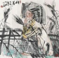 硕果 镜心 设色纸本 - 吴山明 - 中国书画(一) - 2010年秋季艺术品拍卖会 -收藏网