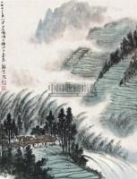 山水 立轴 纸本 - 131604 - 中国书画(下) - 2010瑞秋艺术品拍卖会 -收藏网