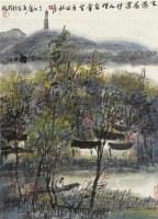 春湖少女 立轴 设色纸本 - 曾宓 - 中国书画 - 2010年秋季拍卖会 -收藏网