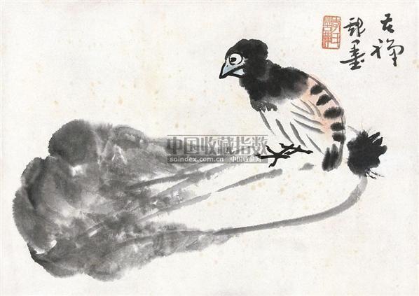 平安白菜 镜心 纸本 - 139807 - 中国书画 - 2010年秋季书画专场拍卖会 -收藏网