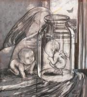 贾穹 无题 布面油画 - 155223 - (西画)当代艺术专题 - 2006年秋季精品拍卖会 -收藏网