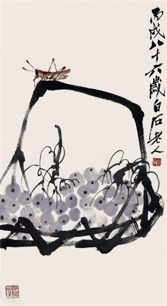 葡萄虫草 - 116087 - 2010上海宏大秋季中国书画拍卖会 - 2010上海宏大秋季中国书画拍卖会 -收藏网