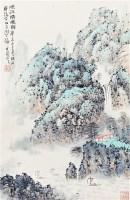 山水 纸本 立轴 - 郑方 - 中国书画(二)无底价专场 - 天目迎春 -收藏网