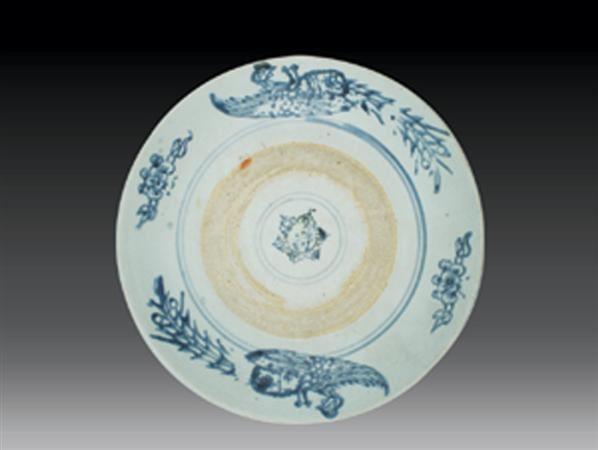 元 青花凤纹盘 -  - 瓷玉珍玩 - 2006艺术精品拍卖会 -中国收藏网