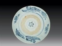 元 青花凤纹盘 -  - 瓷玉珍玩 - 2006艺术精品拍卖会 -收藏网