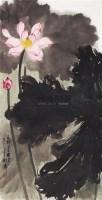 墨荷图 - 谢稚柳 - 西泠印社部分社员作品 - 2006春季大型艺术品拍卖会 -收藏网