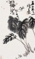 花卉 立轴 纸本 - 李苦禅 - 中国书画(下) - 2010瑞秋艺术品拍卖会 -中国收藏网