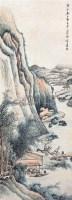 山水人物 立轴 设色纸本 - 140116 - 中国书画 - 2006秋季书画艺术品拍卖会 -收藏网